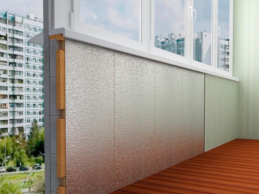 какой утеплитель использовать на балконе